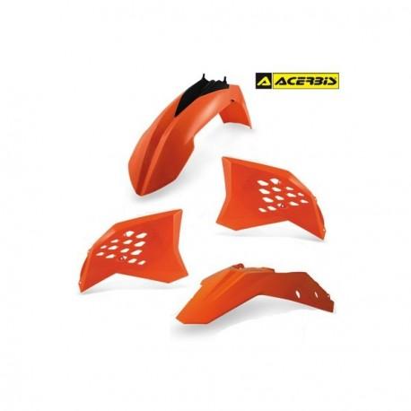 KIT PLASTICOS ACERBIS KTM SX65 12-15 ORANGE.