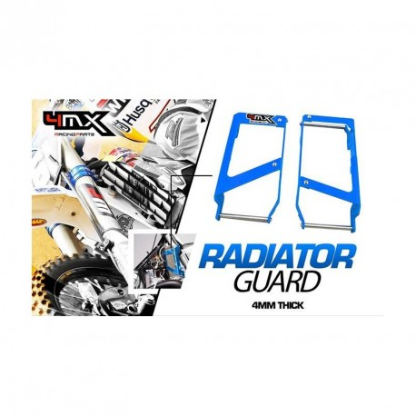 PROTECTOR RADIADOR 4MX KTM/HUSQVARNA BLUE