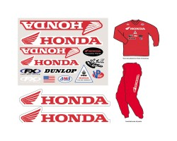 Factory Rider Iron On-Honda