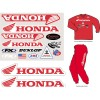 Factory Rider Iron On-Honda