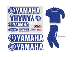 Factory Rider Iron On-Yamaha