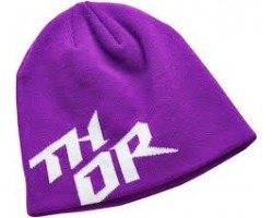 GORRO POLAR THOR STACKED PURPLE/WHITE