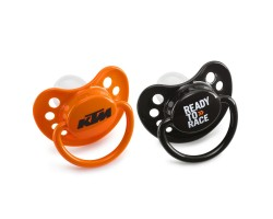 CHUPETE KTM BABY DUMMY ORANGE & BLACK