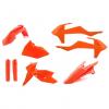 FULL KIT ACERBIS KTM EXC/EXCF 17 NARANJA FLUO