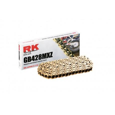 CADENA REFORZADA RK GB428 MXZ 126 ESLABONES.