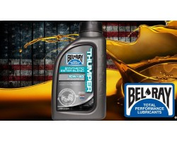 Aceite Bel-Ray Thumper Racing Ester Blend Sintético motor 4T 10W40 1 L.