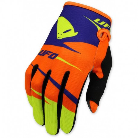 Guantes UFO Revolt Orange fluor