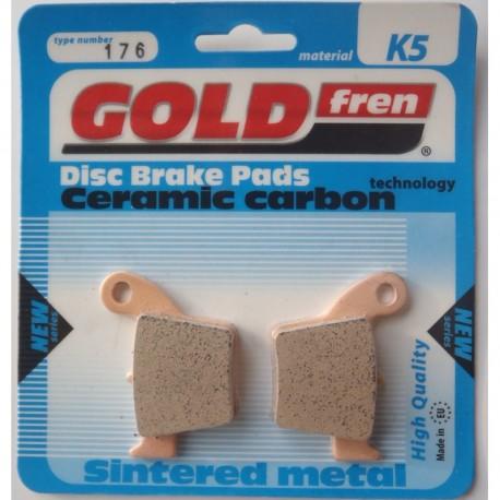 Pastillas Freno Gold Fren Tras. Honda CR/CRF 02 - (sintetizadas ceramic carbon)