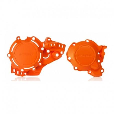 Kit X-Power Acerbis KTM EXC 250/300 17-19 SX 250 17-18 Husqvarna TE 250/300 17-19 TC 250 17-18 Naranja