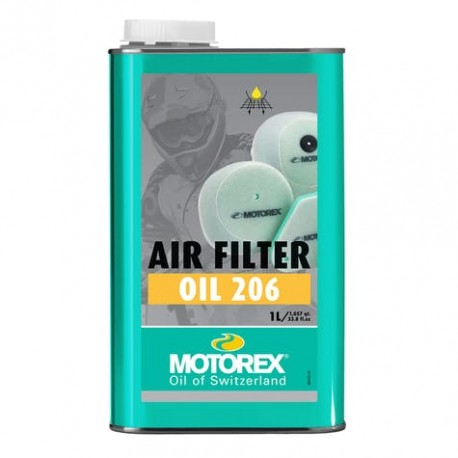MOTOREX ACEITE FILTRO 1L (AIR FILTER OIL 206)