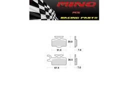 Pastillas Freno Mino Delanteras KX/RM65