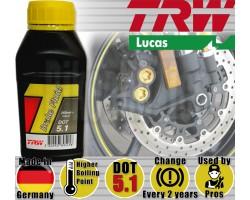 LIQUIDO FRENO DOT4 TRW 250ML