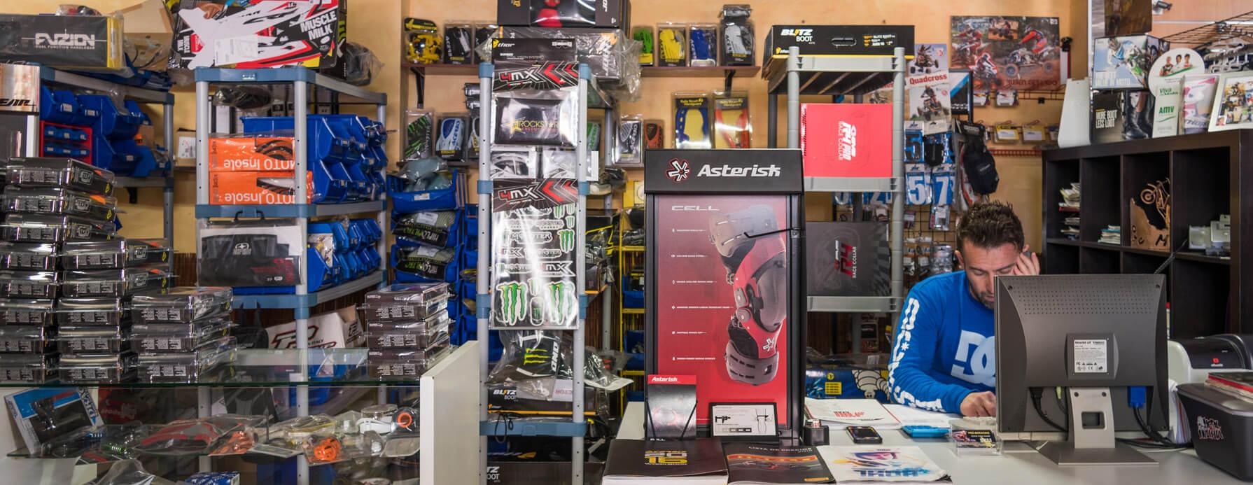 Nuestra tienda PRO-MX RACING